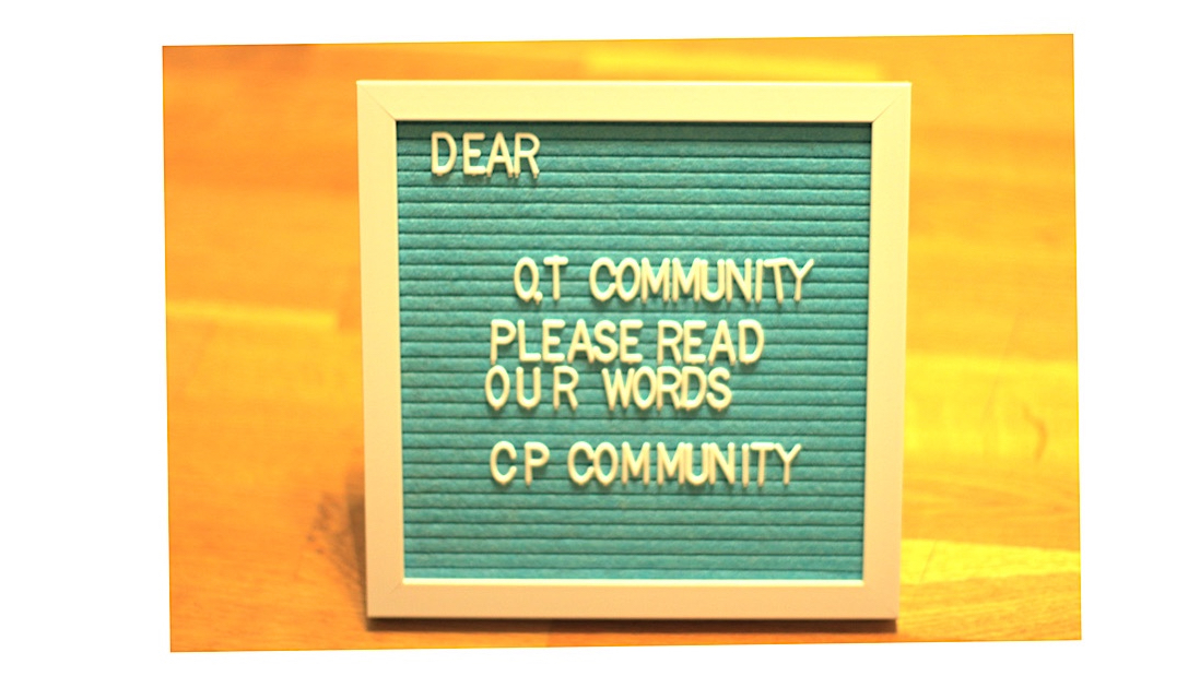 Dear Occupational Therapy Community